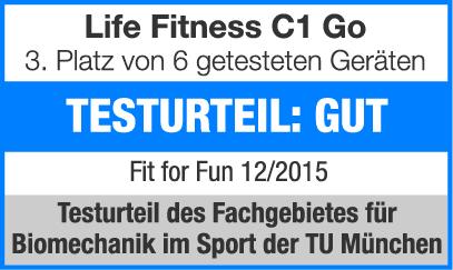 life fitness ergometer c1 go kaufen mit 50 kundenbewertungen sport tiedje. Black Bedroom Furniture Sets. Home Design Ideas
