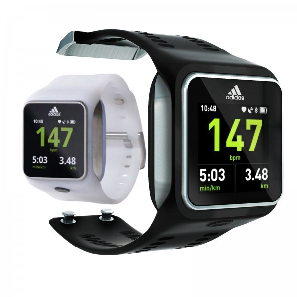 adidas miCoach SMART RUN GPS-Trainingsuhr