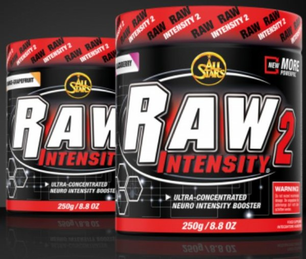 All Stars Pre-Workout-Booster Raw Intensity 2