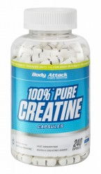 Body Attack 100% Pure Creatine Caps jetzt online kaufen
