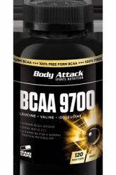 Body Attack BCAA 9700 (120 Kapseln) jetzt online kaufen