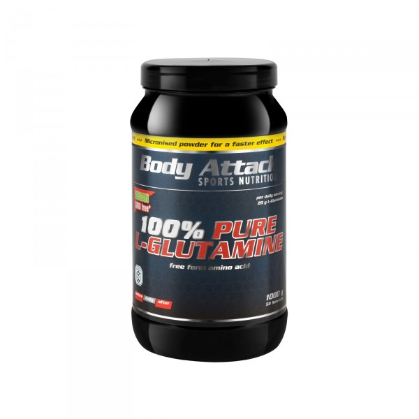 Body Attack 100% Pure Glutamine