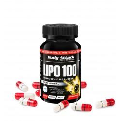 Body Attack Lipo 100 Thermogenic Fat Burner jetzt online kaufen