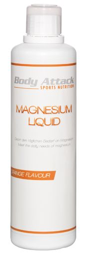 Body Attack Magnesium Liquid plus Vitamin C