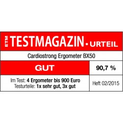 Testsiegel cardiostrong BX50