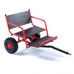 Dino Cars GoKart Anhänger Basiswagen Detailbild