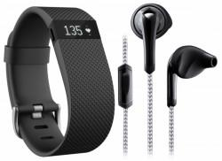 Fitbit Fitness Essential Pack (Fitbit Charge HR + Ohrhörer) jetzt online kaufen