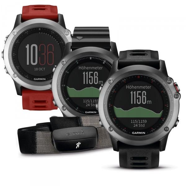 Garmin GPS-Multisport Uhr fenix 3