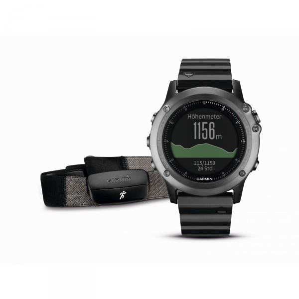 Garmin GPS Multisportuhr fenix 3 saphir (Perf. Bundle)