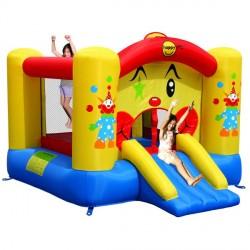 HappyHop Hüpfburg Clown mit Rutsche jetzt online kaufen