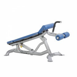 Hoist Adjustable Flat/Decline Bench