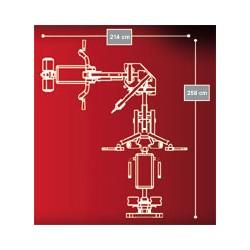 Hoist Multi-Kraftstation H-2200 Detailbild