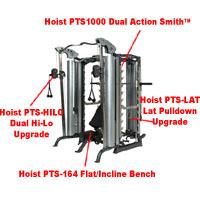 Hoist Multipresse PTS1000 Dual Action Smith™ Detailbild