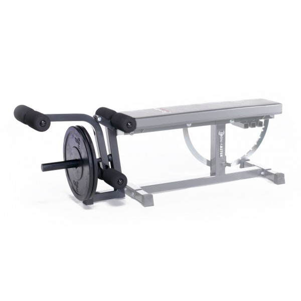 Ironmaster Beinstrecker / Beinbeuger für Hantelbank Super Bench
