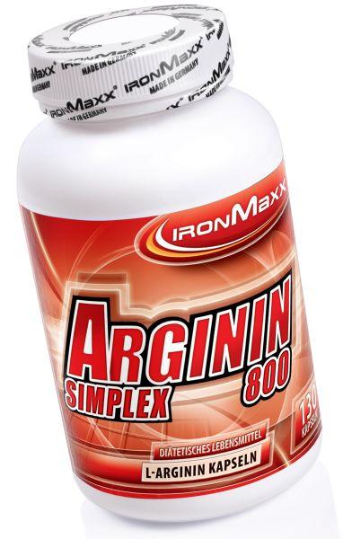 IronMaxx Arginin Simplex 800