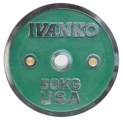 Ivanko Hantelscheibe Chrom Calibrated 50mm