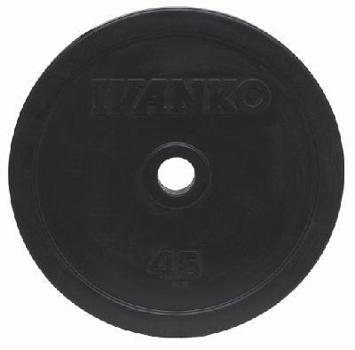 Ivanko Hantelscheibe Rubber 50mm