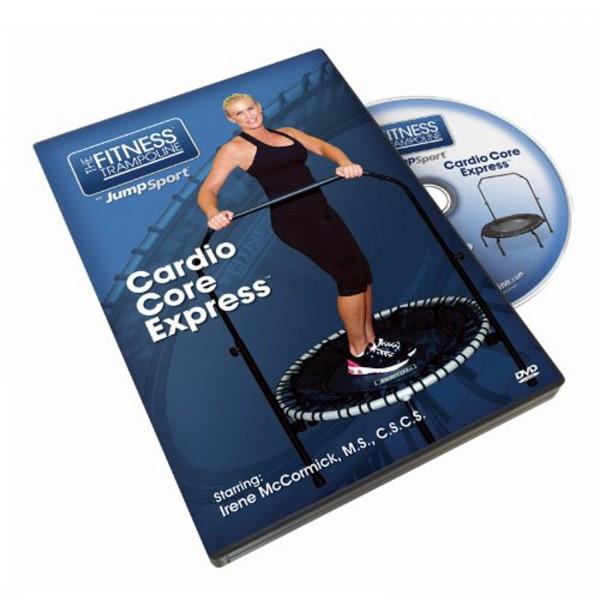 Jumpsport Trainings-DVD Cardio Core Express