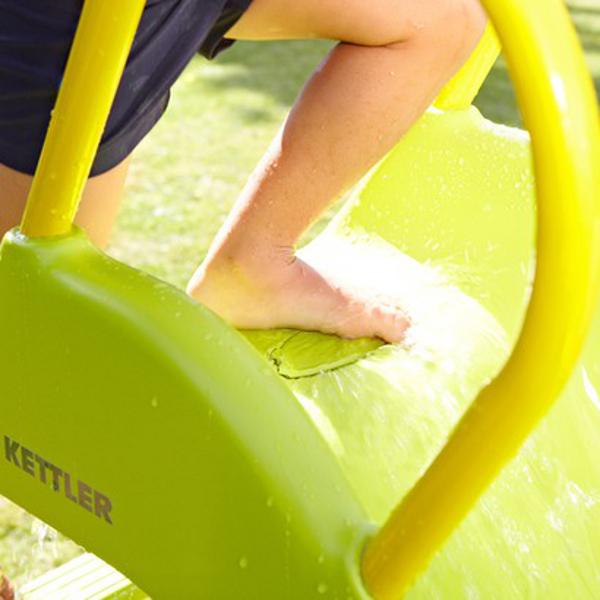 kettler rutsche mit wasseranschluss kaufen test sport tiedje. Black Bedroom Furniture Sets. Home Design Ideas