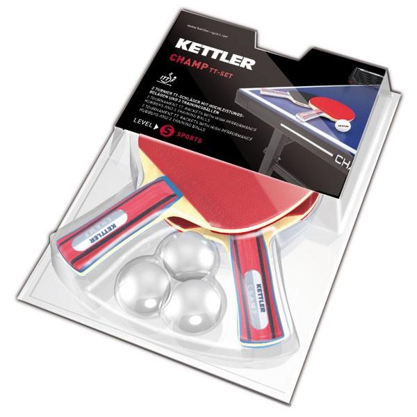 Kettler Tischtennisschläger-Set Champ