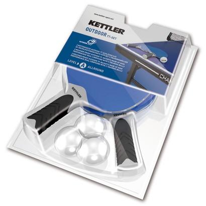 Kettler Outdoor Tischtennisschläger-Set