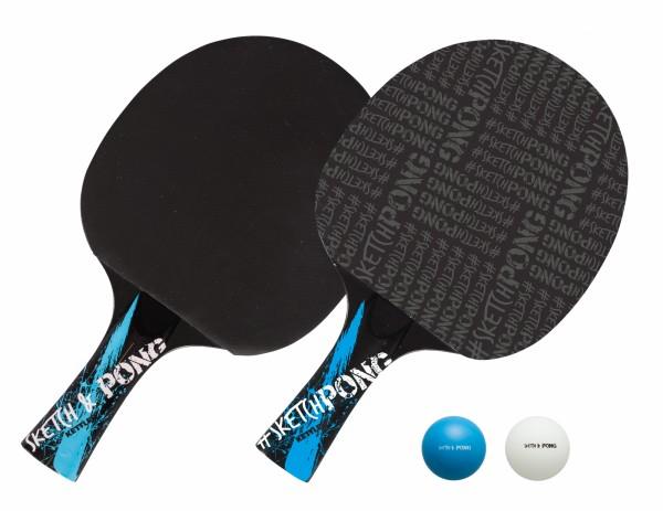 Kettler Tischtennisschläger Set SketchPong