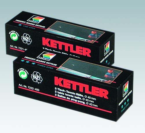 Kettler TT-Bälle Three Star