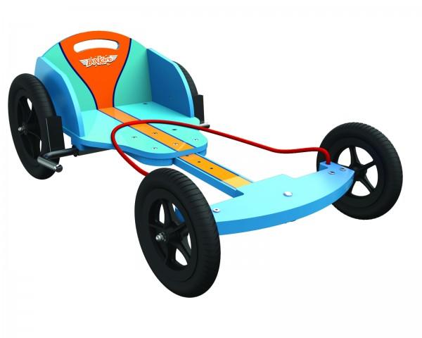 kiddimoto® BOXKART Gulf Seifenkisten Racer