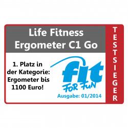 Das Life Fitness C1 Go ist Fit for Fun Ergometer Crosstrainer (01/2014)