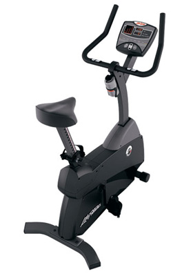 life fitness upright bike c1 5 kaufen test ausstellungsst ck sport tiedje. Black Bedroom Furniture Sets. Home Design Ideas