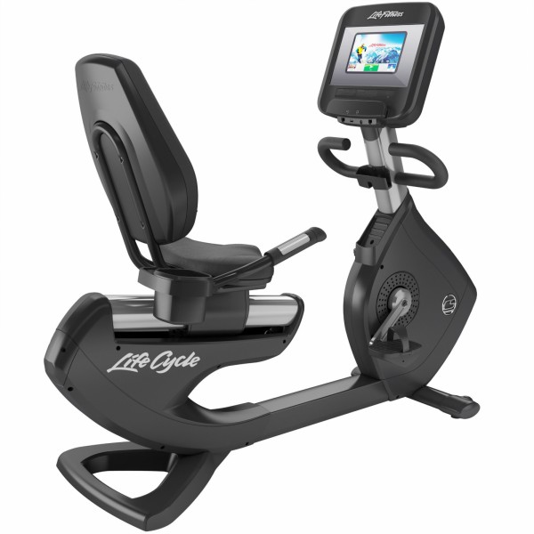 Life Fitness Liegeergometer Platinum Club Series Discover SI