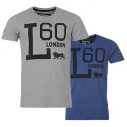 "Lonsdale T-Shirt ""L"" Graphic Tee Detailbild"