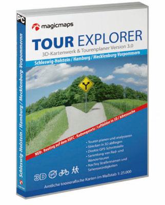 MagicMaps Tour Explorer DVD