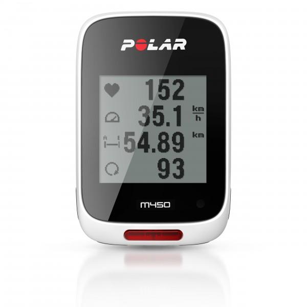 Polar GPS-Fahrradcomputer M450 (HR)