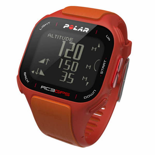 Polar RC3 GPS-Uhr orange