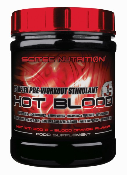SCITEC Pre-Workout-Booster Hot Blood 3.0