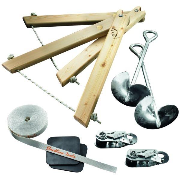 Slackline-Tools Frameline Set 10m