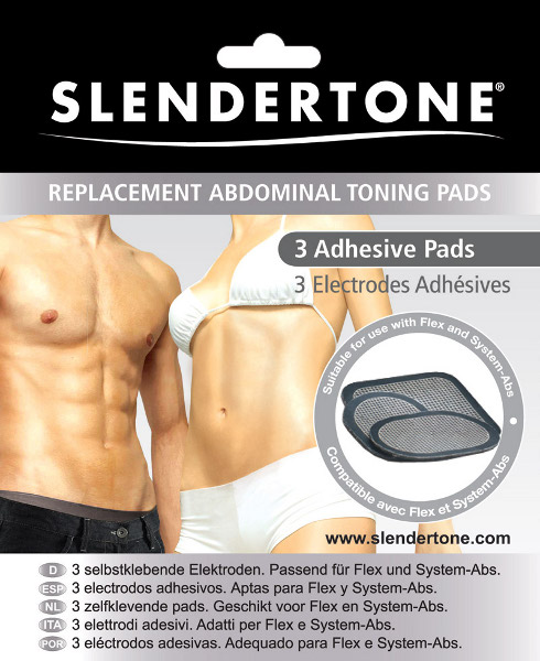Slendertone Elektroden für Bauchgurte