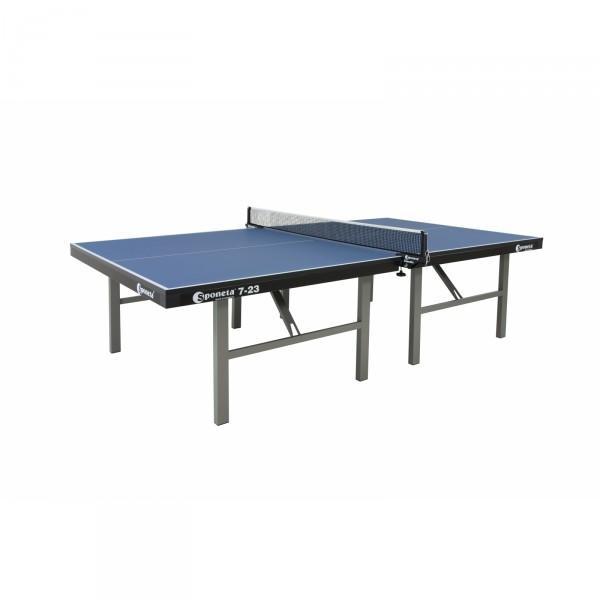 Sponeta Wettkampf-Tischtennisplatte S7-23 blau