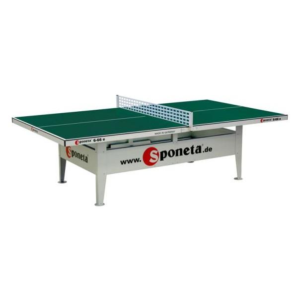 Sponeta venkovní stl na stolní tenis S6-66e zelený