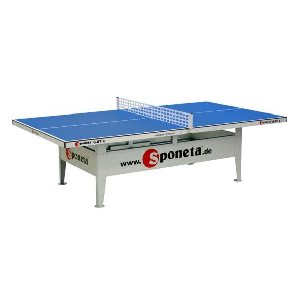 Sponeta Outdoor-Tischtennisplatte S6-67e blau