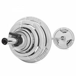 Langhantel-Set 50 mm 120 kg jetzt online kaufen