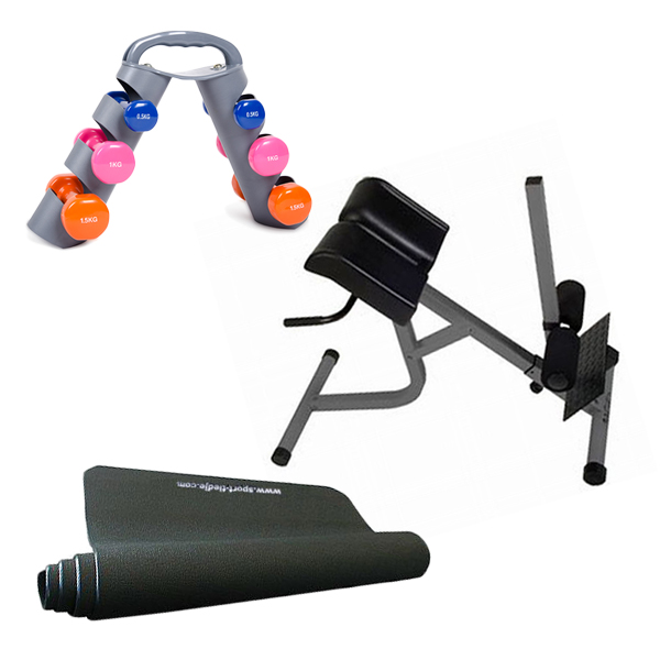 Sport-Tiedje Rückenfitness Set 2