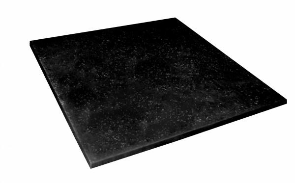 Taurus Gummi-Bodenmatte schwarz