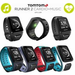 TomTom Runner 2 Cardio + Music GPS-Sportuhr jetzt online kaufen
