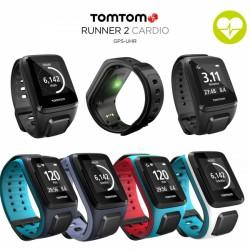 TomTom Runner 2 Cardio GPS-Sportuhr jetzt online kaufen