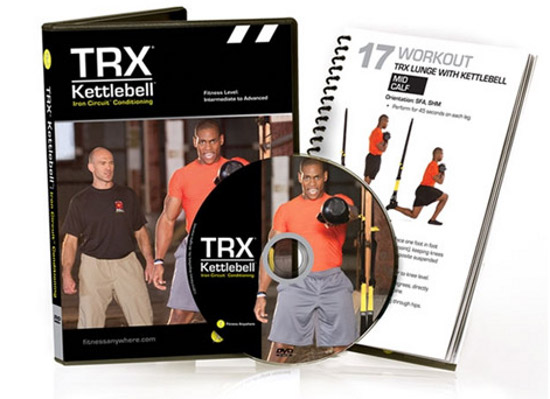 TRX DVD Kettlebell: Iron Circuit Conditioning