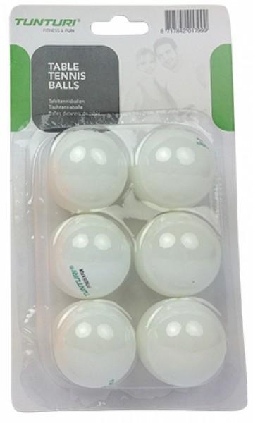 Tunturi Tischtennisbälle 6er Set