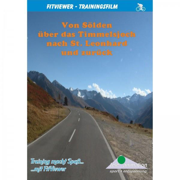Vitalis FitViewer DVD Sölden über das Timmeljoch nach St. Leonhard und zurück