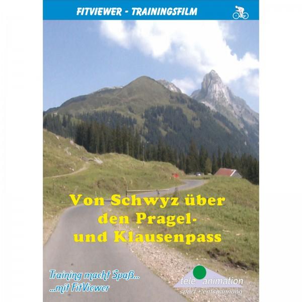 Vitalis FitViewer DVD Von Schwyz über Pragelpass
